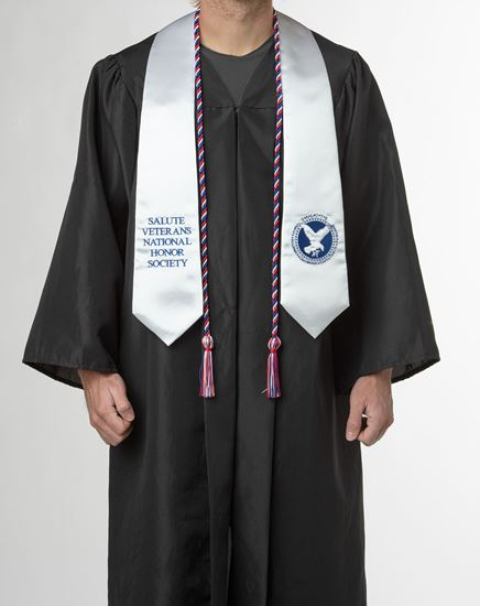 Picture of SALUTE Graduation Stole (Associate's and Bachelor's degrees)